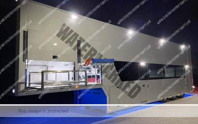 HMS Build Ref 500 4 car Transporter with luxury office