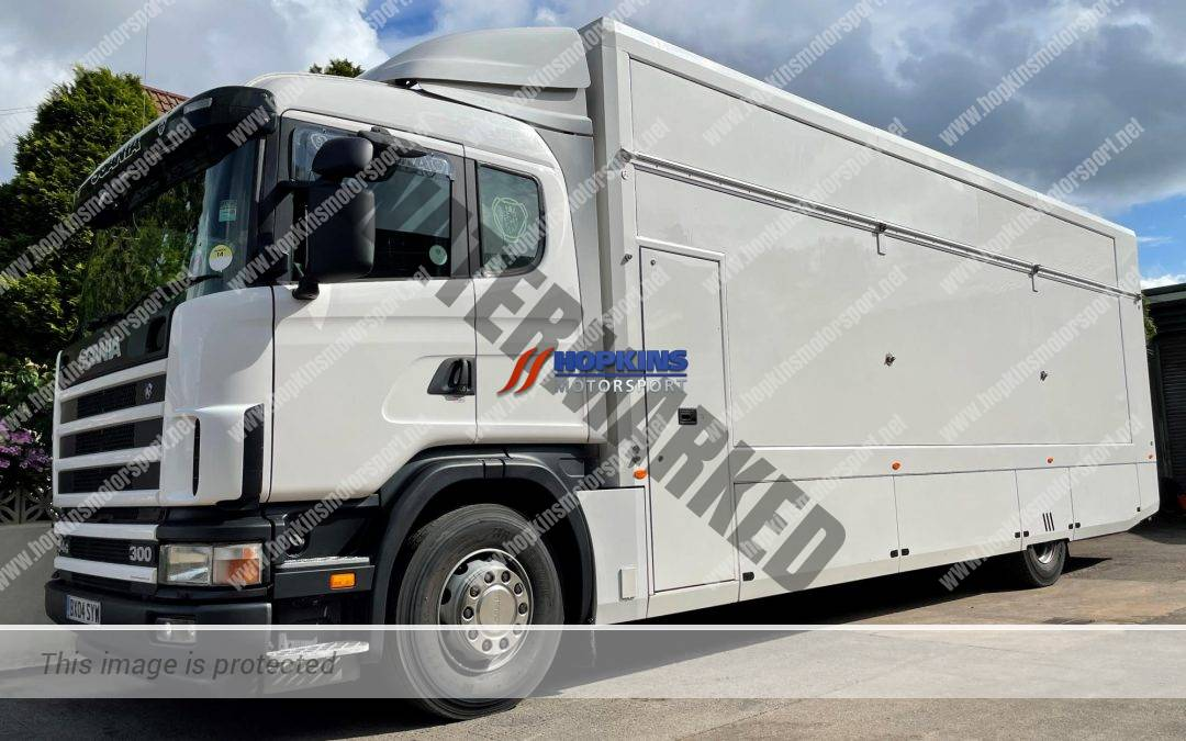 HMS Build Ref 224  Year 2004 Scania 94d with HMS year 2008 conversion